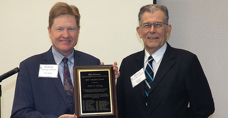 FRC's Sprigg Honored with Award