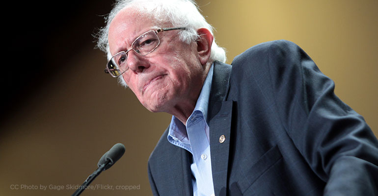 Wednesday at Bernie's: Propping up Socialism
