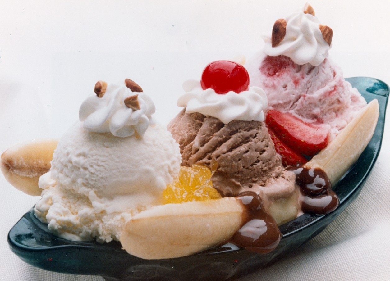 Today is National Banana Split Day ! The delicious mixture of ...